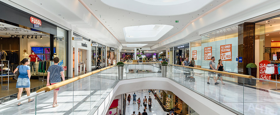 klantentelling shoppingcentra